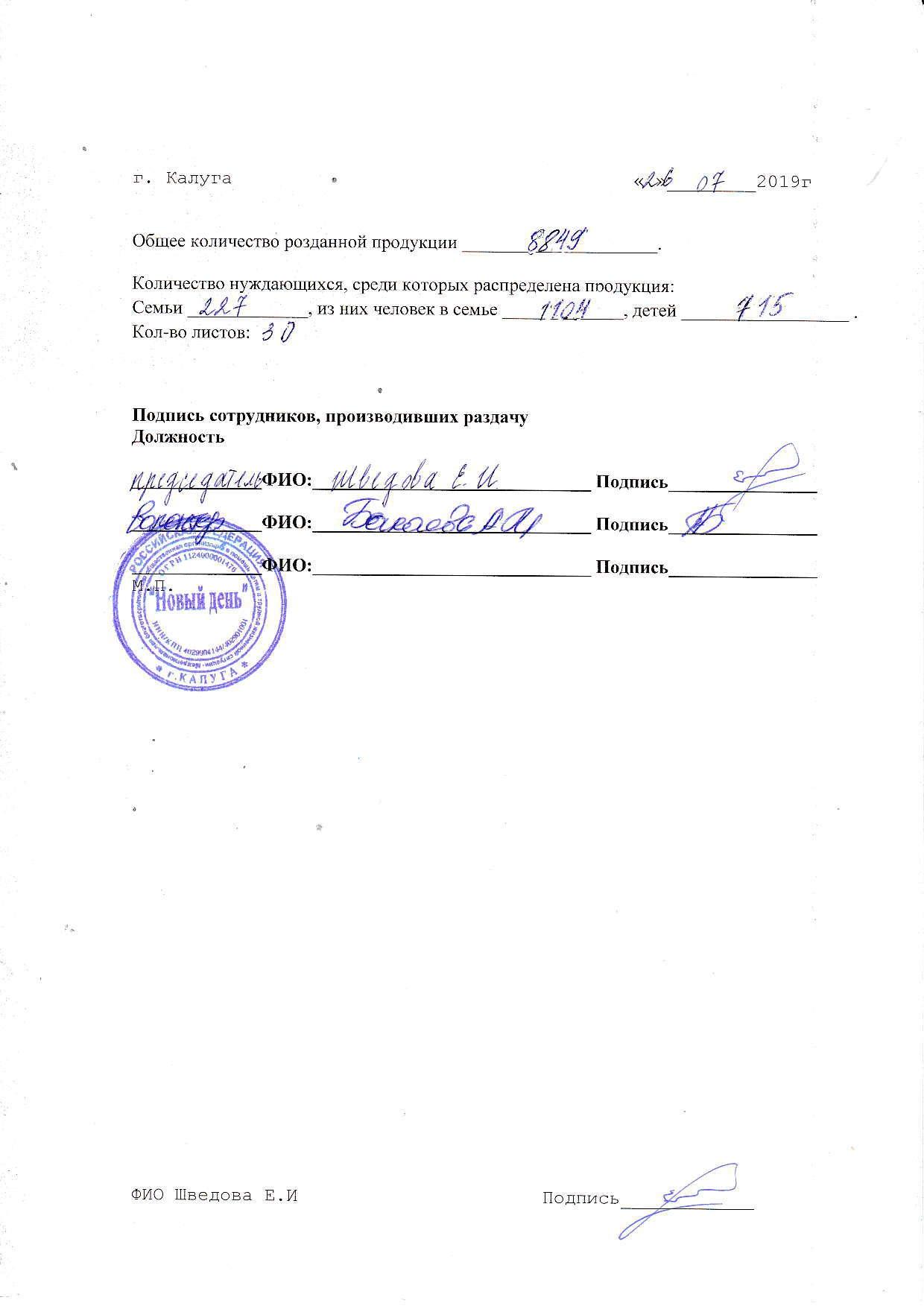 Молочка кол-во 26.07.2019